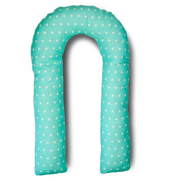 Body Pillow Подушка для беременных U-образная цвет мятный - Подушки для беременных и кормящих