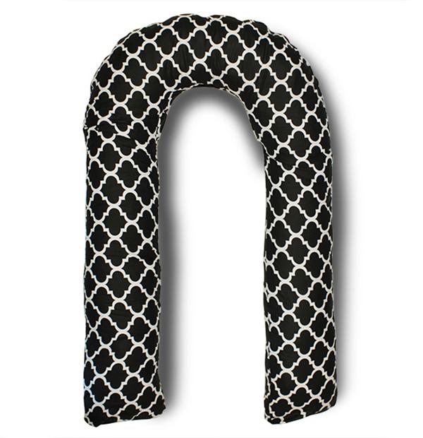 Body Pillow Подушка для беременных U-образная цвет черный, белый - Подушки для беременных и кормящих