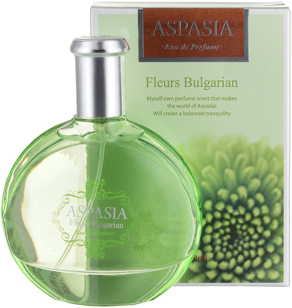 Aspasia туалетная вода, женская Eu de parfume Fleurs Bulgarian, 50 мл - Парфюмерия