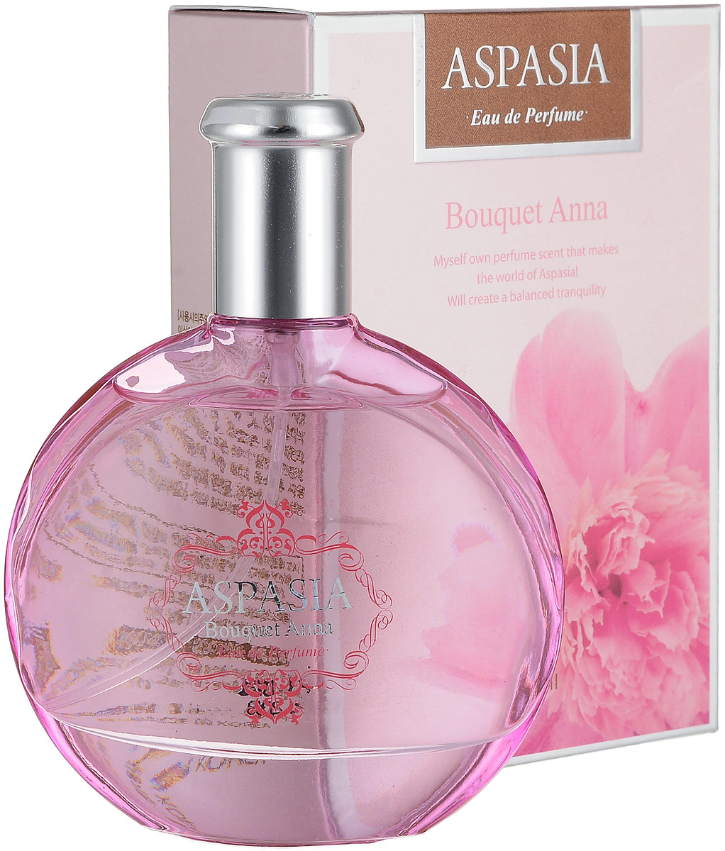 Aspasia туалетная вода, женская Eu de parfume Bouquet Anna, 50 мл281575Верхние ноты: бергамот, апельсин, зелень, озонСрединные ноты: роза, ирис, жасмин, полевая лилияБазовые ноты: сандаловое дерево, кедр, амбра, тонка