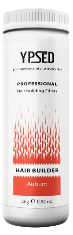 Камуфляж для волос Ypsed Professional Auburn (махагон), 26 г157530Кератиновый камуфляж (загуститель) волос YPSED серия Professional (auburn/махагон) – инновационный продукт в области загустителей волос и камуфляжа участков поредения. Доведенная до совершенства формула сохранила все преимущества предшественников. Высокотехнологичные кератиновые волокна, состоящие из натурального кератина, нарезанные и обработанные таким образом, что они незаметно смешиваются с волосами, визуально увеличивая густоту и объем. Принципиальные отличия: отсутствие комков, т.к. волокна созданы из высокотехнологичных соединений, отсутствует эффект грязных волос. Используя загуститель, достаточно просто превратить жидкие прядки в густую шевелюру. Средство отлично маскирует проплешины, рубцы на коже, редкие проборы, небольшие залысины. Продукт выпускается в разных оттенках, поэтому подобрать загуститель можно к любому натуральному цвету волос. Волосы обладают статическим электричеством, за счет этого волокна беспорядочно прилепляются к волосам, зрительно делая их гуще. Достаточно покрыть средством голову и через 10 секунд оценить результат: проблемных зон не будет видно. Плюсом сухого загустителя является то, что это очень быстрый и наипростейший способ скрыть дефект прически, средство можно взять с собой в поездку и пользоваться им в любых обстоятельствах. Волокна достаточно хорошо прикрепляются к волосам, но все же специалисты рекомендуют дополнительно применять фиксирующие средства (лак для волос), чтобы еще сильнее закрепить загуститель. Подходит для применения как мужчинам так и женщинам, помогает в любой ситуации выглядеть достойно и чувствовать себя уверенно. Рекомендованное количество для единоразового использования - 0,5гр. Упаковка - баночка с дозатором (мини-сито) 26гр.