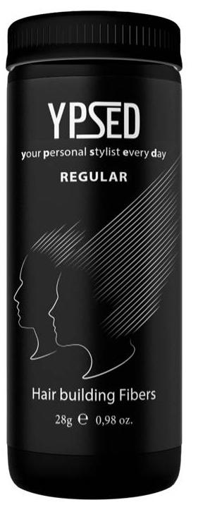 Камуфляж для волос Ypsed Regular Black (черный), 28 г171680Кератиновый камуфляж (загуститель) волос YPSED серия Regular (black/черный) – это высокотехнологичные кератиновые волокна, состоящие из натурального кератина, нарезанные и обработанные таким образом, что они незаметно смешиваются с волосами, визуально увеличивая густоту и объем. Используя загуститель, достаточно просто превратить жидкие прядки в густую шевелюру. Средство отлично маскирует проплешины, рубцы на коже, редкие проборы, небольшие залысины. Продукт выпускается в разных оттенках, поэтому подобрать загуститель можно к любому натуральному цвету волос. Волосы обладают статическим электричеством, за счет этого волокна беспорядочно прилепляются к волосам, зрительно делая их гуще. Достаточно покрыть средством голову и через 10 секунд оценить результат: проблемных зон не будет видно. Плюсом сухого загустителя является то, что это очень быстрый и наипростейший способ скрыть дефект прически, средство можно взять с собой в поездку и пользоваться им в любых обстоятельствах. Волокна достаточно хорошо прикрепляются к волосам, но все же специалисты рекомендуют дополнительно применять фиксирующие средства (лак для волос), чтобы еще сильнее закрепить загуститель. Подходит для применения как мужчинам так и женщинам, помогает в любой ситуации выглядеть достойно и чувствовать себя уверенно. Рекомендованное количество для единоразового использования - 0,5гр. Упаковка - баночка с дозатором (мини-сито) 28гр.