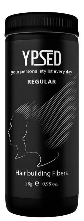 Камуфляж для волос Ypsed Regular Мedium brown (средне-коричневый), 28 г171703Кератиновый камуфляж (загуститель) волос YPSED серия Regular (medium brown/средне-коричневый) – это высокотехнологичные кератиновые волокна, состоящие из натурального кератина, нарезанные и обработанные таким образом, что они незаметно смешиваются с волосами, визуально увеличивая густоту и объем. Используя загуститель, достаточно просто превратить жидкие прядки в густую шевелюру. Средство отлично маскирует проплешины, рубцы на коже, редкие проборы, небольшие залысины. Продукт выпускается в разных оттенках, поэтому подобрать загуститель можно к любому натуральному цвету волос. Волосы обладают статическим электричеством, за счет этого волокна беспорядочно прилепляются к волосам, зрительно делая их гуще. Достаточно покрыть средством голову и через 10 секунд оценить результат: проблемных зон не будет видно. Плюсом сухого загустителя является то, что это очень быстрый и наипростейший способ скрыть дефект прически, средство можно взять с собой в поездку и пользоваться им в любых обстоятельствах. Волокна достаточно хорошо прикрепляются к волосам, но все же специалисты рекомендуют дополнительно применять фиксирующие средства (лак для волос), чтобы еще сильнее закрепить загуститель. Подходит для применения как мужчинам так и женщинам, помогает в любой ситуации выглядеть достойно и чувствовать себя уверенно. Рекомендованное количество для единоразового использования - 0,5гр. Упаковка - баночка с дозатором (мини-сито) 28гр.
