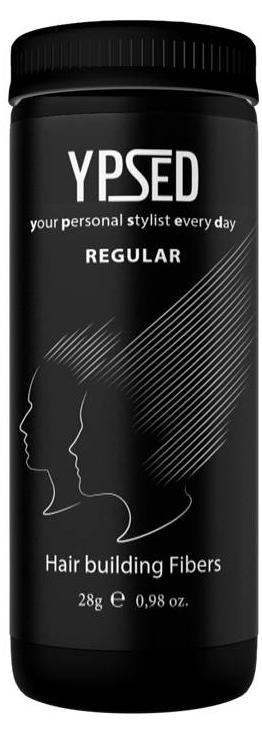 Камуфляж для волос Ypsed Regular Grey (серый), 28 г171734Кератиновый камуфляж (загуститель) волос YPSED серия Regular (grey/серый) – это высокотехнологичные кератиновые волокна, состоящие из натурального кератина, нарезанные и обработанные таким образом, что они незаметно смешиваются с волосами, визуально увеличивая густоту и объем. Используя загуститель, достаточно просто превратить жидкие прядки в густую шевелюру. Средство отлично маскирует проплешины, рубцы на коже, редкие проборы, небольшие залысины. Продукт выпускается в разных оттенках, поэтому подобрать загуститель можно к любому натуральному цвету волос. Волосы обладают статическим электричеством, за счет этого волокна беспорядочно прилепляются к волосам, зрительно делая их гуще. Достаточно покрыть средством голову и через 10 секунд оценить результат: проблемных зон не будет видно. Плюсом сухого загустителя является то, что это очень быстрый и наипростейший способ скрыть дефект прически, средство можно взять с собой в поездку и пользоваться им в любых обстоятельствах. Волокна достаточно хорошо прикрепляются к волосам, но все же специалисты рекомендуют дополнительно применять фиксирующие средства (лак для волос), чтобы еще сильнее закрепить загуститель. Подходит для применения как мужчинам так и женщинам, помогает в любой ситуации выглядеть достойно и чувствовать себя уверенно. Рекомендованное количество для единоразового использования - 0,5гр. Упаковка - баночка с дозатором (мини-сито) 28гр.