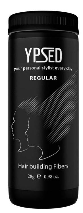 Камуфляж для волос Ypsed Regular Auburn (махагон), 28 г171741Кератиновый камуфляж (загуститель) волос YPSED серия Regular (auburn/махагон) – это высокотехнологичные кератиновые волокна, состоящие из натурального кератина, нарезанные и обработанные таким образом, что они незаметно смешиваются с волосами, визуально увеличивая густоту и объем. Используя загуститель, достаточно просто превратить жидкие прядки в густую шевелюру. Средство отлично маскирует проплешины, рубцы на коже, редкие проборы, небольшие залысины. Продукт выпускается в разных оттенках, поэтому подобрать загуститель можно к любому натуральному цвету волос. Волосы обладают статическим электричеством, за счет этого волокна беспорядочно прилепляются к волосам, зрительно делая их гуще. Достаточно покрыть средством голову и через 10 секунд оценить результат: проблемных зон не будет видно. Плюсом сухого загустителя является то, что это очень быстрый и наипростейший способ скрыть дефект прически, средство можно взять с собой в поездку и пользоваться им в любых обстоятельствах. Волокна достаточно хорошо прикрепляются к волосам, но все же специалисты рекомендуют дополнительно применять фиксирующие средства (лак для волос), чтобы еще сильнее закрепить загуститель. Подходит для применения как мужчинам так и женщинам, помогает в любой ситуации выглядеть достойно и чувствовать себя уверенно. Рекомендованное количество для единоразового использования - 0,5гр. Упаковка - баночка с дозатором (мини-сито) 28гр.