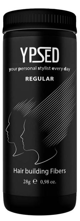 Камуфляж для волос Ypsed Regular White (белый), 28 г171758Кератиновый камуфляж (загуститель) волос YPSED серия Regular (white/белый) – это высокотехнологичные кератиновые волокна, состоящие из натурального кератина, нарезанные и обработанные таким образом, что они незаметно смешиваются с волосами, визуально увеличивая густоту и объем. Используя загуститель, достаточно просто превратить жидкие прядки в густую шевелюру. Средство отлично маскирует проплешины, рубцы на коже, редкие проборы, небольшие залысины. Продукт выпускается в разных оттенках, поэтому подобрать загуститель можно к любому натуральному цвету волос. Волосы обладают статическим электричеством, за счет этого волокна беспорядочно прилепляются к волосам, зрительно делая их гуще. Достаточно покрыть средством голову и через 10 секунд оценить результат: проблемных зон не будет видно. Плюсом сухого загустителя является то, что это очень быстрый и наипростейший способ скрыть дефект прически, средство можно взять с собой в поездку и пользоваться им в любых обстоятельствах. Волокна достаточно хорошо прикрепляются к волосам, но все же специалисты рекомендуют дополнительно применять фиксирующие средства (лак для волос), чтобы еще сильнее закрепить загуститель. Подходит для применения как мужчинам так и женщинам, помогает в любой ситуации выглядеть достойно и чувствовать себя уверенно. Рекомендованное количество для единоразового использования - 0,5гр. Упаковка - баночка с дозатором (мини-сито) 28гр.