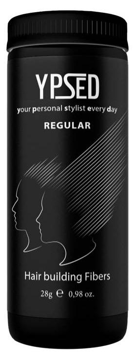 Камуфляж для волос Ypsed Regular Light medium brown (светло-коричневый), 28 г171765Кератиновый камуфляж (загуститель) волос YPSED серия Regular (light medium brown/светло-коричневый) – это высокотехнологичные кератиновые волокна, состоящие из натурального кератина, нарезанные и обработанные таким образом, что они незаметно смешиваются с волосами, визуально увеличивая густоту и объем. Используя загуститель, достаточно просто превратить жидкие прядки в густую шевелюру. Средство отлично маскирует проплешины, рубцы на коже, редкие проборы, небольшие залысины. Продукт выпускается в разных оттенках, поэтому подобрать загуститель можно к любому натуральному цвету волос. Волосы обладают статическим электричеством, за счет этого волокна беспорядочно прилепляются к волосам, зрительно делая их гуще. Достаточно покрыть средством голову и через 10 секунд оценить результат: проблемных зон не будет видно. Плюсом сухого загустителя является то, что это очень быстрый и наипростейший способ скрыть дефект прически, средство можно взять с собой в поездку и пользоваться им в любых обстоятельствах. Волокна достаточно хорошо прикрепляются к волосам, но все же специалисты рекомендуют дополнительно применять фиксирующие средства (лак для волос), чтобы еще сильнее закрепить загуститель. Подходит для применения как мужчинам так и женщинам, помогает в любой ситуации выглядеть достойно и чувствовать себя уверенно. Рекомендованное количество для единоразового использования - 0,5гр. Упаковка - баночка с дозатором (мини-сито) 28гр.
