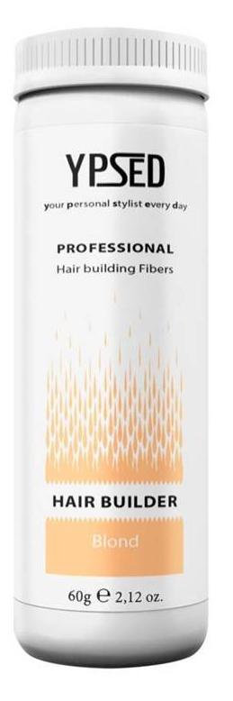 Камуфляж для волос Ypsed Professional Blonde (блонд), 60 г211030Кератиновый камуфляж (загуститель) волос YPSED серия Professional (blonde/блонд) – инновационный продукт в области загустителей волос и камуфляжа участков поредения. Доведенная до совершенства формула сохранила все преимущества предшественников. Высокотехнологичные кератиновые волокна, состоящие из натурального кератина, нарезанные и обработанные таким образом, что они незаметно смешиваются с волосами, визуально увеличивая густоту и объем. Принципиальные отличия: отсутствие комков, т.к. волокна созданы из высокотехнологичных соединений, отсутствует эффект грязных волос. Используя загуститель, достаточно просто превратить жидкие прядки в густую шевелюру. Средство отлично маскирует проплешины, рубцы на коже, редкие проборы, небольшие залысины. Продукт выпускается в разных оттенках, поэтому подобрать загуститель можно к любому натуральному цвету волос. Волосы обладают статическим электричеством, за счет этого волокна беспорядочно прилепляются к волосам, зрительно делая их гуще. Достаточно покрыть средством голову и через 10 секунд оценить результат: проблемных зон не будет видно. Плюсом сухого загустителя является то, что это очень быстрый и наипростейший способ скрыть дефект прически, средство можно взять с собой в поездку и пользоваться им в любых обстоятельствах. Волокна достаточно хорошо прикрепляются к волосам, но все же специалисты рекомендуют дополнительно применять фиксирующие средства (лак для волос), чтобы еще сильнее закрепить загуститель. Подходит для применения как мужчинам так и женщинам, помогает в любой ситуации выглядеть достойно и чувствовать себя уверенно. Рекомендованное количество для единоразового использования - 0,5гр. Упаковка - баночка с дозатором (мини-сито) 60гр.