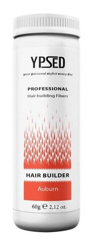 Камуфляж для волос Ypsed Professional Auburn (махагон), 60 г211054Кератиновый камуфляж (загуститель) волос YPSED серия Professional (auburn/махагон) – инновационный продукт в области загустителей волос и камуфляжа участков поредения. Доведенная до совершенства формула сохранила все преимущества предшественников. Высокотехнологичные кератиновые волокна, состоящие из натурального кератина, нарезанные и обработанные таким образом, что они незаметно смешиваются с волосами, визуально увеличивая густоту и объем. Принципиальные отличия: отсутствие комков, т.к. волокна созданы из высокотехнологичных соединений, отсутствует эффект грязных волос. Используя загуститель, достаточно просто превратить жидкие прядки в густую шевелюру. Средство отлично маскирует проплешины, рубцы на коже, редкие проборы, небольшие залысины. Продукт выпускается в разных оттенках, поэтому подобрать загуститель можно к любому натуральному цвету волос. Волосы обладают статическим электричеством, за счет этого волокна беспорядочно прилепляются к волосам, зрительно делая их гуще. Достаточно покрыть средством голову и через 10 секунд оценить результат: проблемных зон не будет видно. Плюсом сухого загустителя является то, что это очень быстрый и наипростейший способ скрыть дефект прически, средство можно взять с собой в поездку и пользоваться им в любых обстоятельствах. Волокна достаточно хорошо прикрепляются к волосам, но все же специалисты рекомендуют дополнительно применять фиксирующие средства (лак для волос), чтобы еще сильнее закрепить загуститель. Подходит для применения как мужчинам так и женщинам, помогает в любой ситуации выглядеть достойно и чувствовать себя уверенно. Рекомендованное количество для единоразового использования - 0,5гр. Упаковка - баночка с дозатором (мини-сито) 60гр.