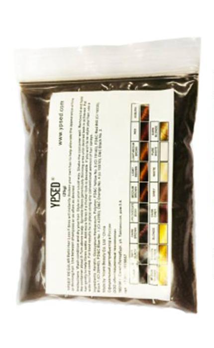 Камуфляж для волос Ypsed Regular Light brown (светло-коричневый), refill 25 г211160Кератиновый камуфляж (загуститель) волос YPSED серия Regular (light brown/светло-коричневый) – это высокотехнологичные кератиновые волокна, состоящие из натурального кератина, нарезанные и обработанные таким образом, что они незаметно смешиваются с волосами, визуально увеличивая густоту и объем. Используя загуститель, достаточно просто превратить жидкие прядки в густую шевелюру. Средство отлично маскирует проплешины, рубцы на коже, редкие проборы, небольшие залысины. Продукт выпускается в разных оттенках, поэтому подобрать загуститель можно к любому натуральному цвету волос. Волосы обладают статическим электричеством, за счет этого волокна беспорядочно прилепляются к волосам, зрительно делая их гуще. Достаточно покрыть средством голову и через 10 секунд оценить результат: проблемных зон не будет видно. Плюсом сухого загустителя является то, что это очень быстрый и наипростейший способ скрыть дефект прически, средство можно взять с собой в поездку и пользоваться им в любых обстоятельствах. Волокна достаточно хорошо прикрепляются к волосам, но все же специалисты рекомендуют дополнительно применять фиксирующие средства (лак для волос), чтобы еще сильнее закрепить загуститель. Подходит для применения как мужчинам так и женщинам, помогает в любой ситуации выглядеть достойно и чувствовать себя уверенно. Рекомендованное количество для единоразового использования - 0,5гр. Упаковка - сменный блок 25гр. полиэтиленовый пакет, без дозатора. Средство пересыпается в старую упаковку для удобства нанесения.