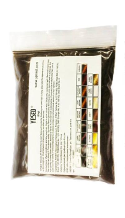 Камуфляж для волос Ypsed Regular Dark chocolate brown (темно-коричневый/ шоколадный), refill 25 г211177Кератиновый камуфляж (загуститель) волос YPSED серия Regular (dark chocolate brown/темно-коричневый/шоколадный) – это высокотехнологичные кератиновые волокна, состоящие из натурального кератина, нарезанные и обработанные таким образом, что они незаметно смешиваются с волосами, визуально увеличивая густоту и объем. Используя загуститель, достаточно просто превратить жидкие прядки в густую шевелюру. Средство отлично маскирует проплешины, рубцы на коже, редкие проборы, небольшие залысины. Продукт выпускается в разных оттенках, поэтому подобрать загуститель можно к любому натуральному цвету волос. Волосы обладают статическим электричеством, за счет этого волокна беспорядочно прилепляются к волосам, зрительно делая их гуще. Достаточно покрыть средством голову и через 10 секунд оценить результат: проблемных зон не будет видно. Плюсом сухого загустителя является то, что это очень быстрый и наипростейший способ скрыть дефект прически, средство можно взять с собой в поездку и пользоваться им в любых обстоятельствах. Волокна достаточно хорошо прикрепляются к волосам, но все же специалисты рекомендуют дополнительно применять фиксирующие средства (лак для волос), чтобы еще сильнее закрепить загуститель. Подходит для применения как мужчинам так и женщинам, помогает в любой ситуации выглядеть достойно и чувствовать себя уверенно. Рекомендованное количество для единоразового использования - 0,5гр. Упаковка - сменный блок 25гр. полиэтиленовый пакет, без дозатора. Средство пересыпается в старую упаковку для удобства нанесения.