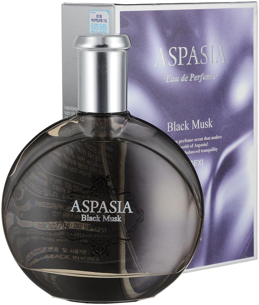 Aspasia туалетная вода, женская Eu de parfume Black Musk, 50 мл281568Верхние ноты: мускус, иланг-илангСрединные ноты: ландыш, мускус, роза, жасминБазовые ноты: мускус, сандаловое дерево, тонка, мох