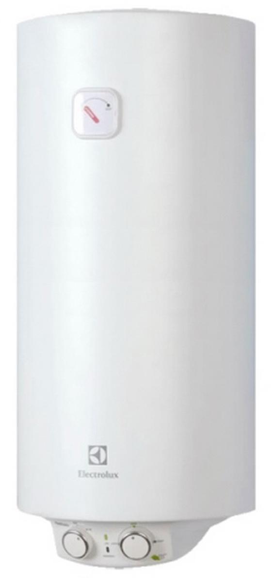 Electrolux EWH 30 Heatronic Slim DryHeat водонагреватель накопительныйEWH 30 Heatronic Slim DryHeatElectrolux EWH 30 Heatronic Slim DryHeat - электрический накопительный водонагреватель с эмалированным покрытием бака в круглом дизайне оборудован одним нагревательным элементом мощностью 1500 Вт. Основное преимущество модели EWH 30 Heatronic Slim DryHeat – это узкий диаметр (34 см), позволяющий разместить прибор практически в любой сантехнической нише.Система СУХИХ независимых ТЭНов – X-HEAT - это два независимых сухих нагревательных элемента, которые не имеют прямого контакта с водой. ТЭНы располагаются в специальных металлических кожухах, закрепленных на фланце в нижней части бака, что ограничивает образование накипи на ТЭНах. Независимая работа ТЭНов дает возможность водонагревателю продолжать работу в случае неисправности одного из них. Система X-Heat значительно увеличивает срок службы водонагревателя.На нижней крышке водонагревателя расположена удобная панель управления. На ней размещены ручка включения прибора и ручка терморегулятора, с помощью которой можно задать нужную температуру нагрева воды в диапазоне от 30 до 75°С. При выборе на панели управления функции экономного режима (положение ЕCO), вода будет нагреваться до температуры 55°С. При такой температуре повышается рабочий ресурс ТЭНа, происходит обеззараживание воды и практически не образуется накипь.За многоуровневую защиту внутреннего бака от коррозии в модели EWH 30 Heatronic Slim DryHeat отвечает система Protect tank, которая включает в себя специальный высокопрочный сплав, стеклоэмаль, а также магниевый анод увеличенной массы. Кроме того, надежную работу водонагревателя обеспечивает предохранительный клапан с функцией слива, который защищает прибор от избыточного давления внутри бака.Внутри водонагревателя EWH 30 Heatronic Slim DryHeat установлен специальный термостат, который срабатывает при нагреве воды в баке до показателя 85°С, что обеспечивает защиту прибора от перегрева.Для эффективной теплои