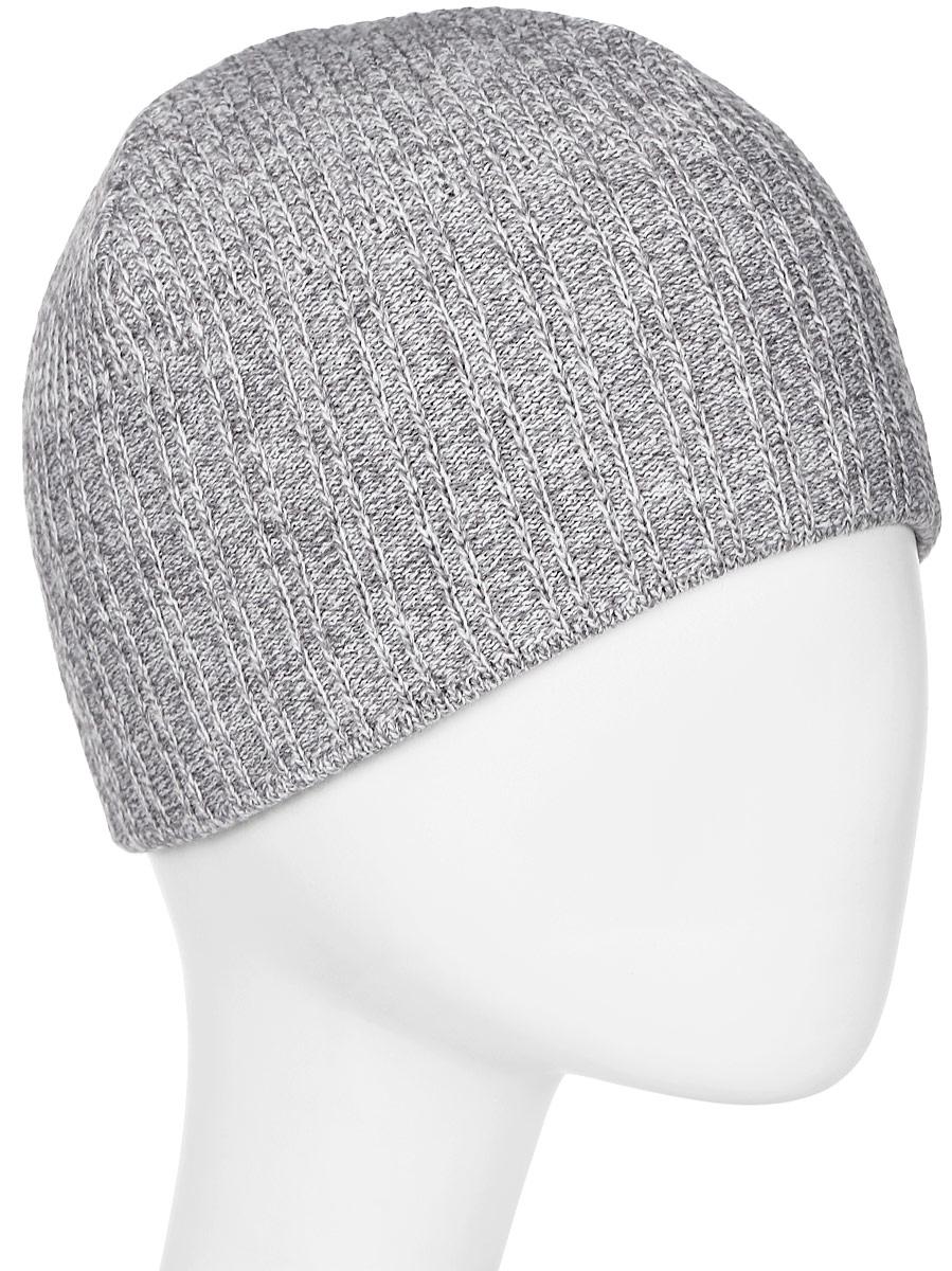 Шапка мужская Marhatter, цвет: светло-серый. Размер 57/59. MMH4856/3MMH4856/3Замечательная шапка, выполненная из теплого комфортного материала. Незаменимая вещь на прохладную погоду. Модель прекрасно подойдет активным молодым людям, ценящим комфорт и удобство.