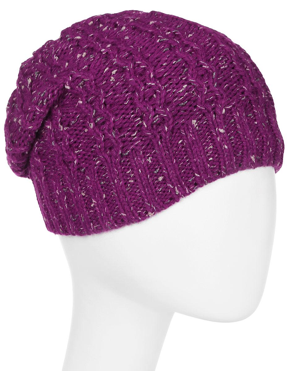 Шапка женская Marhatter, цвет: бордовый. Размер 56/58. MWH4949/2MWH4949/2Стильная шапка-колпак, выполнена из высококачественной пряжи. Модель очень актуальна для тех, кто ценит комфорт, стиль и красоту. Отличный вариант на каждый день.