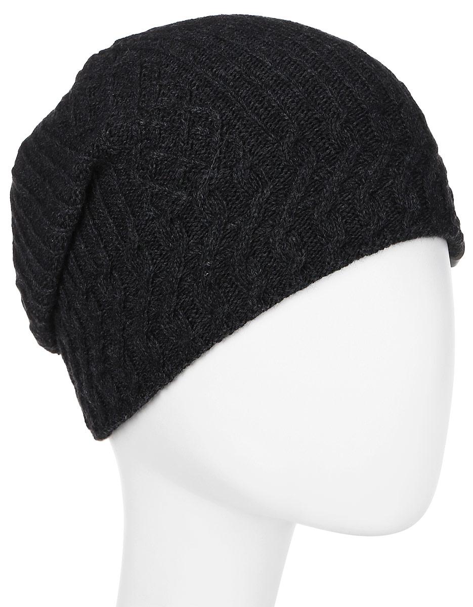 Шапка женская Marhatter, цвет: темно-серый. Размер 56/58. MWH6532/3MWH6532/3Стильная шапка добавит уникальность вашему образу. Данная модель мягкая и комфортная на ощупь. Модель на полном флисе.