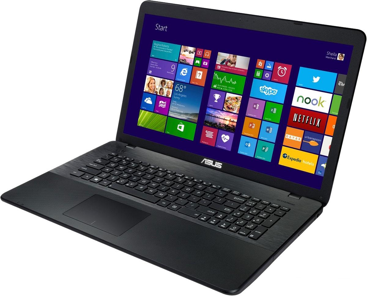 ASUS X751LDV, Black (X751LDV-TY136H)90NB04I1-M02080Ноутбук Asus X751LDV - универсальный мобильный компьютер, одинаково хорошо приспособленный и для работы, и для развлечений. Стильный дизайн, прочный корпус, энергоэффективный процессор Intel Core и аудиотехнология SonicMaster - вот слагаемые их успеха.Высокая производительность:Asus X751LDV отлично подходит и для работы с офисными программами, и для запуска мультимедийных приложений. В его аппаратную конфигурацию входят процессоры Intel Core, современное графическое ядро и высокоскоростной интерфейс USB 3.0. Ноутбук гарантирует моментальный выход из режима сна и комфортную работу практически в любых приложениях.Технология Asus Splendid:Эта технология позволяет оптимизировать настройку цветов для их лучшего восприятия. Asus Splendid автоматически улучшает качество картинки для достижения более глубоких цветов, высокого контраста и более яркого изображения в целом. Пользователь может с легкостью настроить картинку под свои предпочтения, выбрав подходящий режим настройки изображения и оптимальное представление телесных оттенков.Мгновенная готовность к работе:Эксклюзивная система управления энергопотреблением Super Hybrid Engine II позволяет ноутбуку выходить из спящего режима всего за пару секунд, причем в режиме сна он может пробыть до двух недель без подзарядки. Если же уровень заряда батареи опустится ниже 5%, произойдет автоматическое сохранение всех открытых файлов, чтобы избежать потери данных.Высокоскоростные интерфейсы:Высокоскоростной интерфейс USB 3.0 в десять раз быстрее USB 2.0, поэтому он отлично подходит для передачи больших файлов, например, видео высокой четкости, и значительных объемов других данных между устройствами. К примеру, 25-гигабайтный фильм копируется на внешний накопитель всего за 70 секунд!Функция AudioWizard:Для настройки звучания служит функция Audio Wizard, предлагающая выбрать один из пяти вариантов работы аудиосистемы, каждый из которых идеально подходит для определенного типа приложен