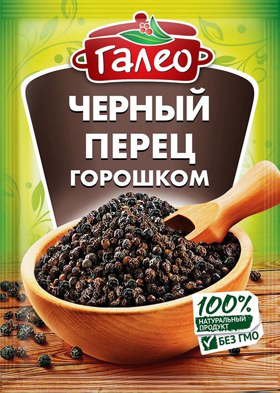 Galeo черный перец горошком, 20 г901298630Это одна из наиболее употребляемых в мире пряностей. Черный перец горошком кладут в супы, бульоны, соусы, а также в мясные, овощные и рыбные блюда. Добавлять его надо в начале приготовления блюда.Приправы для 7 видов блюд: от мяса до десерта. Статья OZON Гид