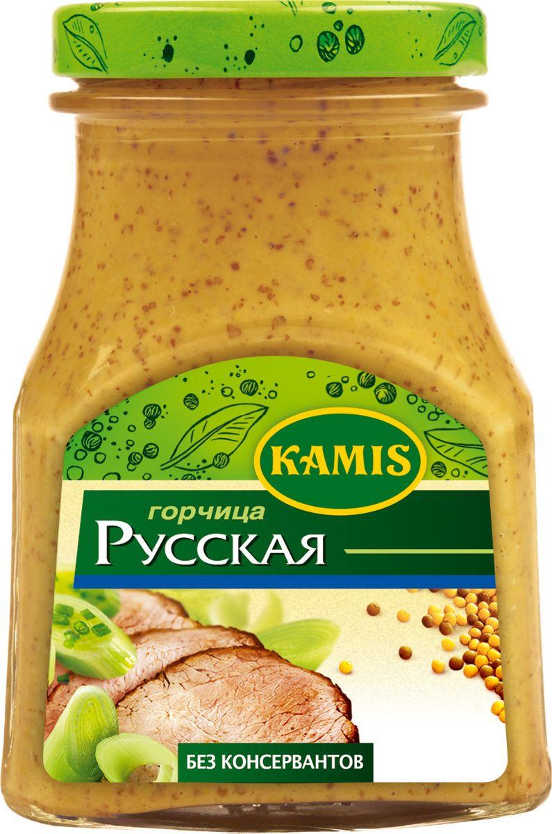 Kamis горчица русская, 180 г тореро вафли со сливочным ароматом 180 г