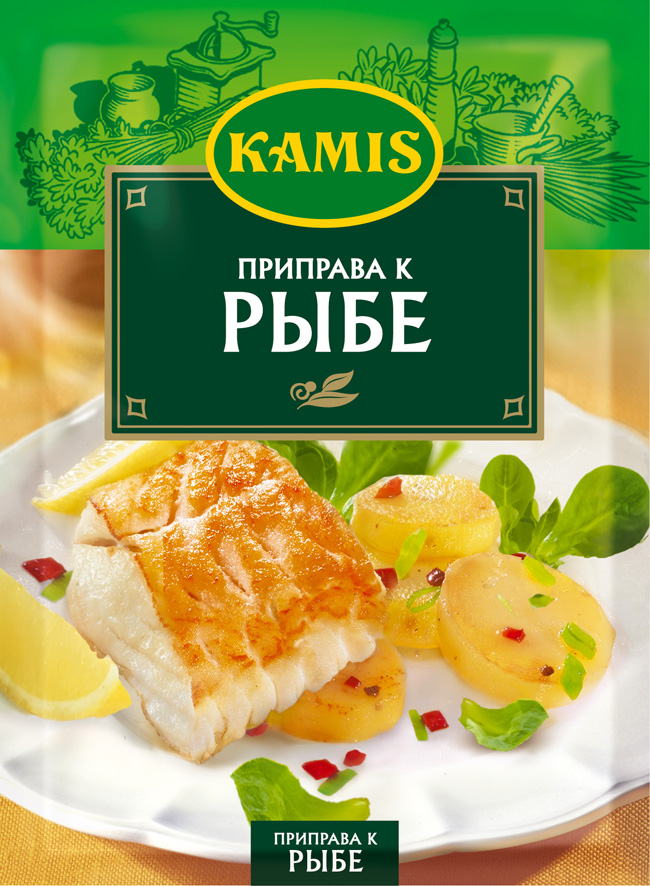 Kamis приправа к рыбе, 25 гYA11-R