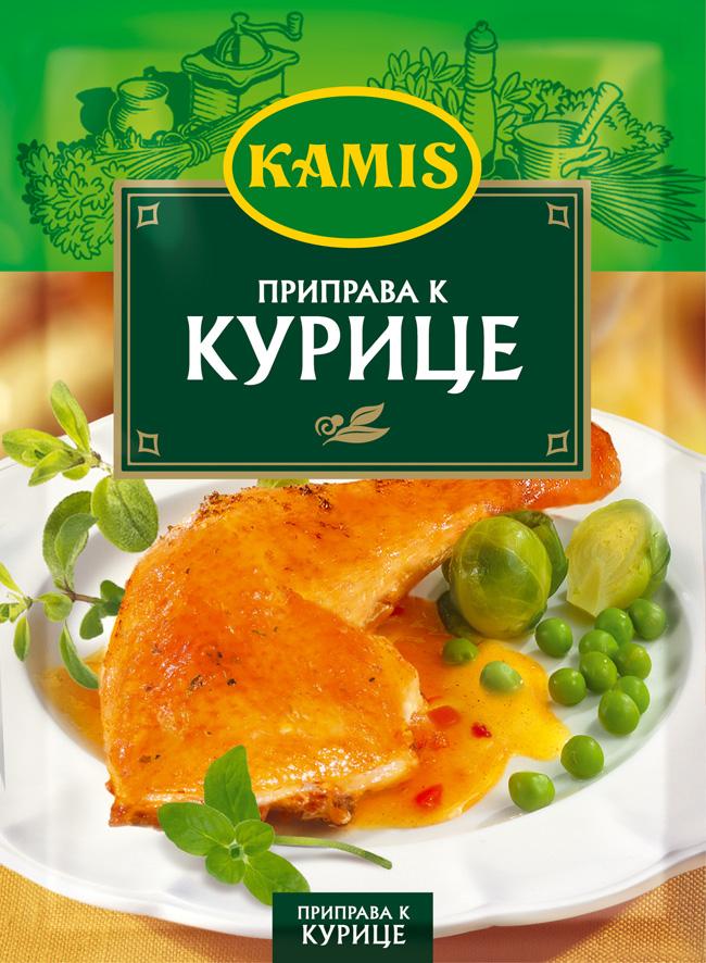 Kamis приправа к курице, 30 г kamis имбирь молотый 15 г