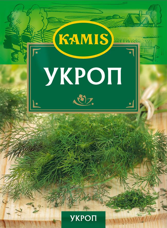 Kamis укроп, 8 гYA71-RВсегда чувствуется, когда еда приготовлена с любовью! Вдохновляйтесь продуктами Kamis, готовьте блюда, полные любви, и делитесь настоящими чувствами с самыми близкими.Укроп - высушенная и измельченная зелень пряного растения из семейства зонтичных. Аромат: древесный, с цитрусовыми и свежими нотами. Вкус: характерный, со свежими нотами.Пищевая ценность (средние значения) 100 г продукта: белки 23,9 г, жиры 5,0 г, углеводы 19,3 г.