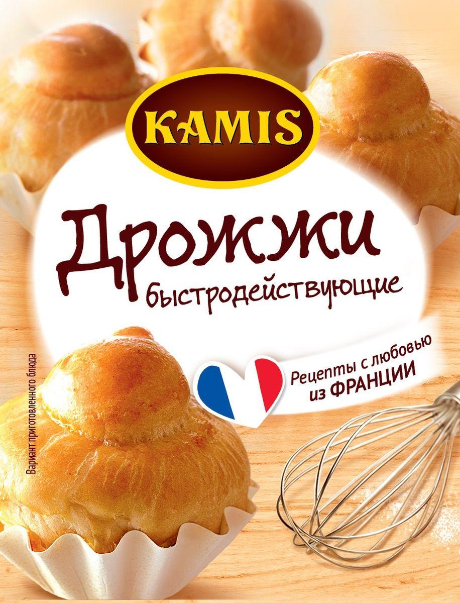 Kamis дрожжи быстродействующие хлебопекарные сухие, 45 шт по 7 г901311092