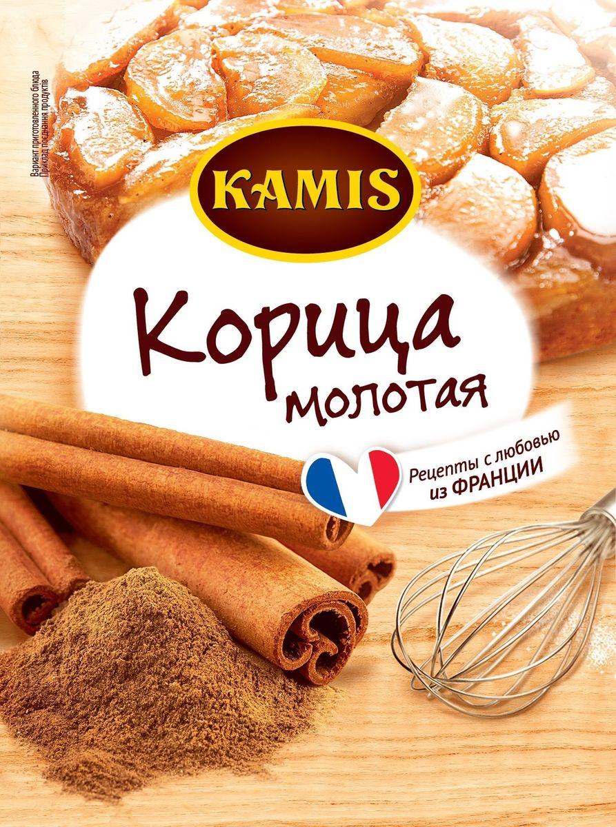 Kamis корица молотая для выпечки, 13 г901414154Всегда чувствуется, когда еда приготовлена с любовью! Вдохновляйтесь продуктами Kamis, готовьте блюда, полные любви, и делитесь настоящими чувствами с самыми близкими.Корица молотая - это высушенная и перемолотая кора коричного дерева. Аромат: пряный, сладкий, древесный, чарующе-теплый. Вкус: сладковатый, пряный.
