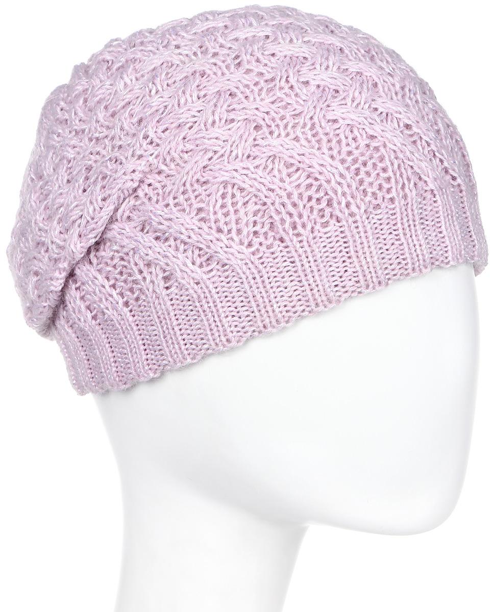 Шапка женская Marhatter, цвет: светло-розовый. MWH6769/3. Размер 56/58MWH6769/3Стильная шапка, выполнена из высококачественной пряжи. Модель очень актуальна для тех, кто ценит комфорт, стиль и красоту. Отличный вариант на каждый день.