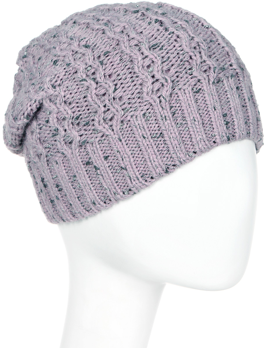 Шапка женская Marhatter, цвет: сиреневый. Размер 56/58. MWH4949/2MWH4949/2Стильная шапка-колпак, выполнена из высококачественной пряжи. Модель очень актуальна для тех, кто ценит комфорт, стиль и красоту. Отличный вариант на каждый день.