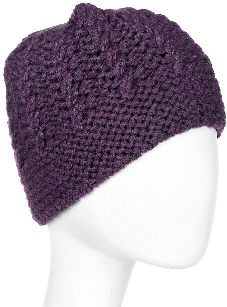 Шапка женская Marhatter, цвет: фиолетовый. Размер 56/58. MWH6524/2MWH6524/2Стильная шапка, выполнена из высококачественной пряжи. Модель очень актуальна для тех, кто ценит комфорт, стиль и красоту. Отличный вариант на каждый день.