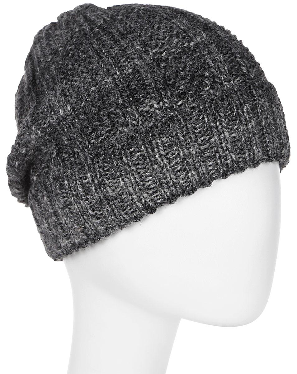 Шапка мужская Marhatter, цвет: темно-серый. Размер 57/59. MMH6001MMH6001Замечательная шапка, выполненная из теплого комфортного материала. Незаменимая вещь на прохладную погоду.