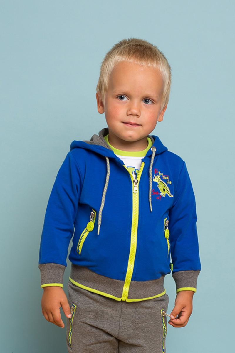 Толстовка для мальчика Sweet Berry Baby, цвет: синий. 731028. Размер 80
