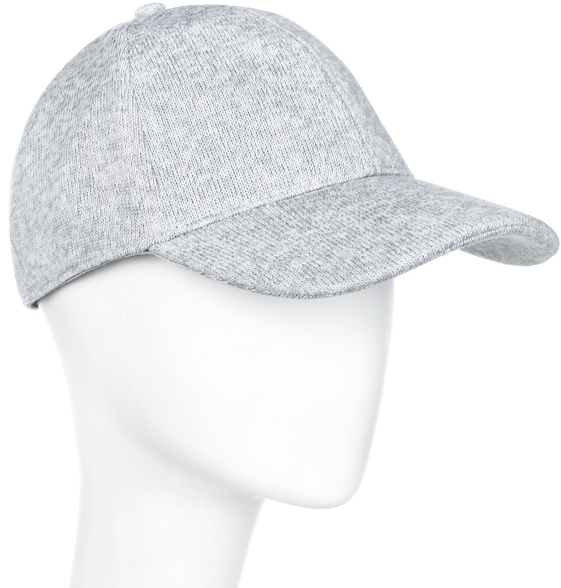 Бейсболка мужская Icepeak, цвет: серый, белый. 858827872IV-811. Размер универсальный858827872IV-811