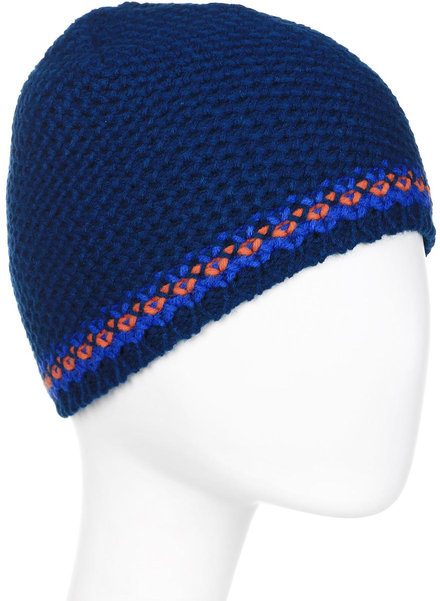 Шапка мужская Icepeak, цвет: синий, красный. 858849608IV-936. Размер универсальный858849608IV-936