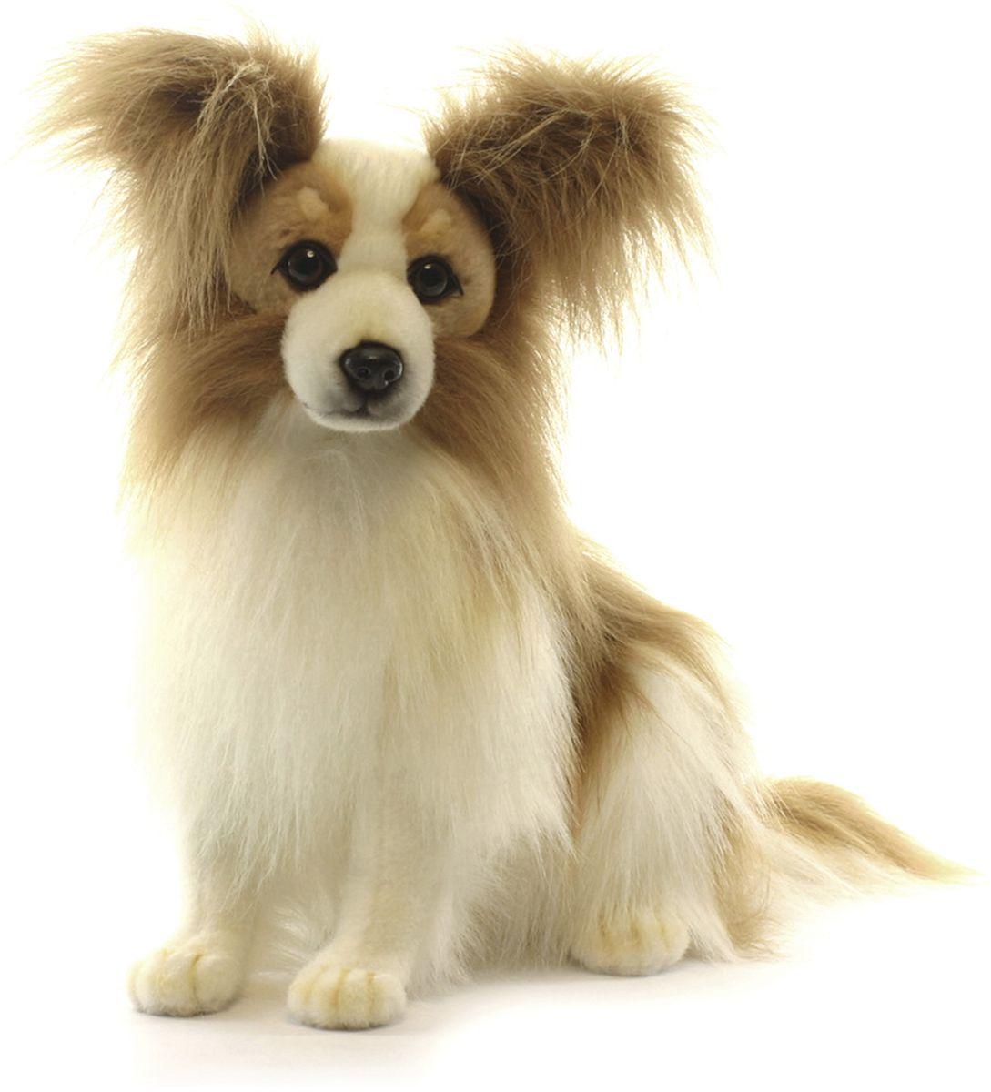 Hansa Мягкая игрушка Собака породы папийон 41 см hansa мягкая игрушка собака себастиан