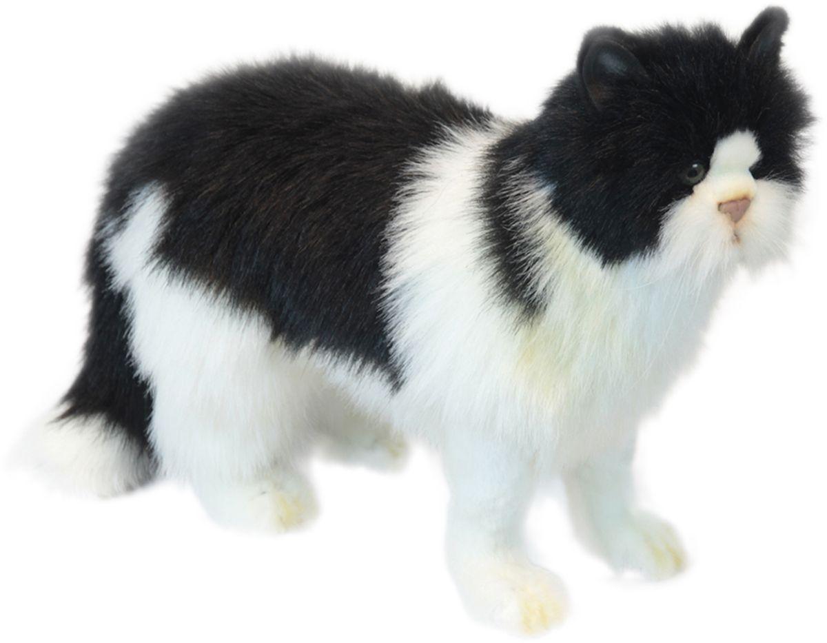 Hansa Мягкая игрушка Кот цвет черный 46 см