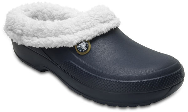 Сабо Crocs Classic Blitzen III Clog, цвет: темно-синий. 204563-41C. Размер 12 (44/45)