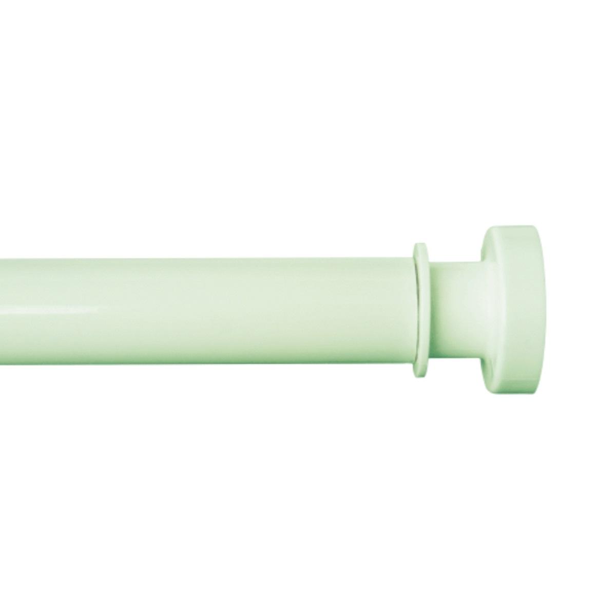 Карниз для ванной Iddis, телескопический, цвет: зеленый, длина 110-200 см012A200I14Карниз Iddis изготовлен из алюминия. Наконечники из АВS -пластика на концах карниза позволяют надежно фиксировать карниз на стене, предотвращая скольжение и повреждение стен в ванной. Благодаря телескопическому механизму карниз можно раздвигать на ширину от 110 до 200 см.Диаметр трубки: 28 мм.