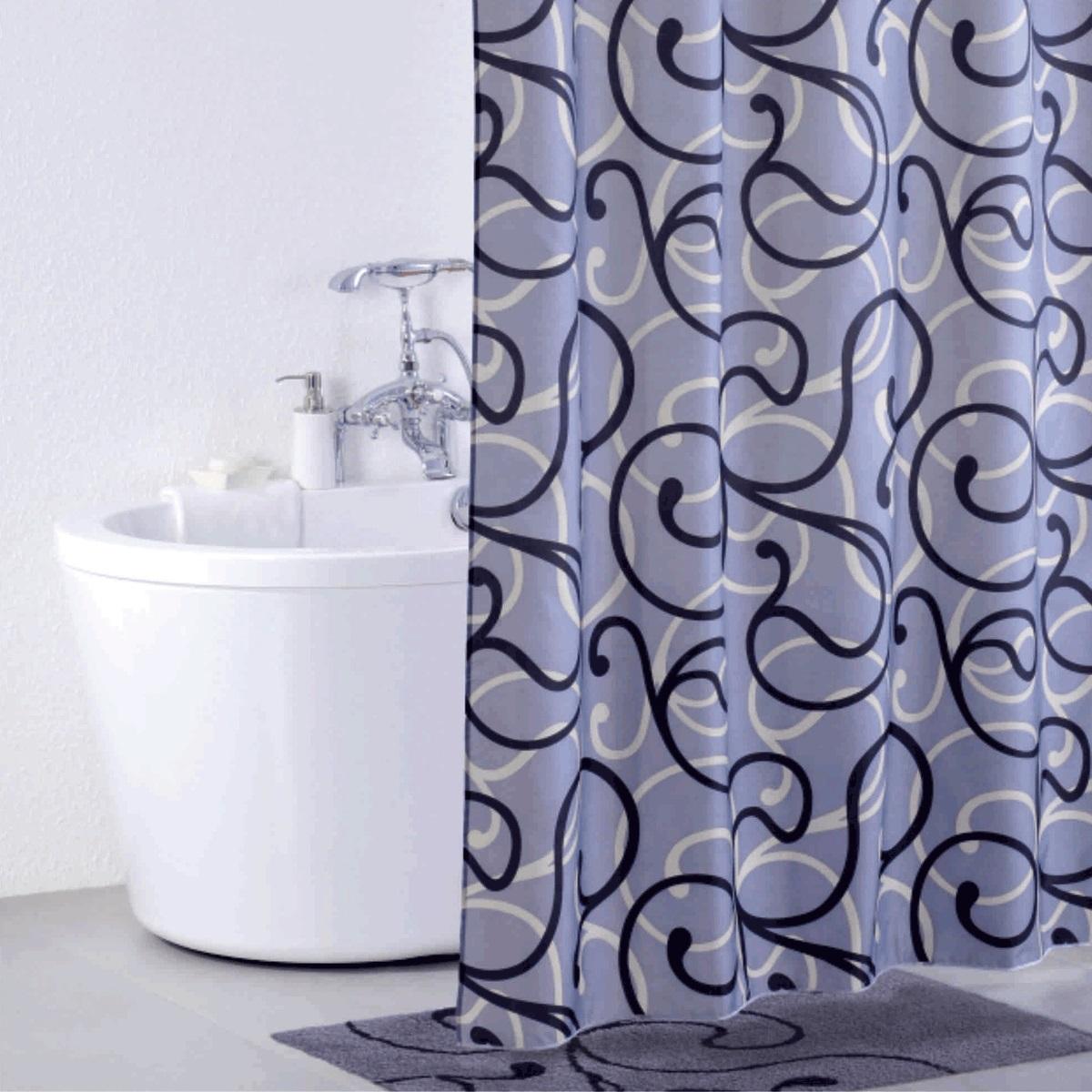 Штора для ванной Iddis Flower Lace Grey, цвет: серый, 200 x 200 см410P20RI11Штора для ванной комнаты Iddis выполнена из быстросохнущего материала - 100% полиэстера, что обеспечивает прочность изделия и легкость ухода за ним.Материал шторы пропитан специальным водоотталкивающим составом Waterprof.Изделие изготовлено из экологически-чистого материала, оно обладает высокой степенью гигиеничности, не вызывает аллергических реакций.Штора имеет 12 металлических люверсов. В комплекте: штора и кольца.
