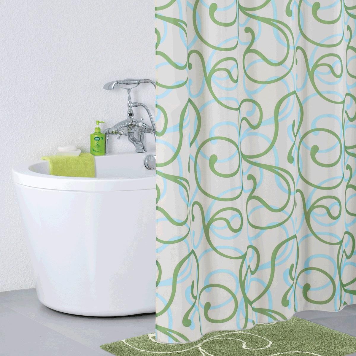 Штора для ванной Iddis Flower Lace Green, цвет: белый, зеленый, 200 x 200 см412P20RI11Штора для ванной комнаты Iddis выполнена из быстросохнущего материала - 100% полиэстера, что обеспечивает прочность изделия и легкость ухода за ним.Материал шторы пропитан специальным водоотталкивающим составом Waterprof.Изделие изготовлено из экологически-чистого материала, оно обладает высокой степенью гигиеничности, не вызывает аллергических реакций.Штора имеет 12 металлических люверсов. В комплекте: штора и кольца.
