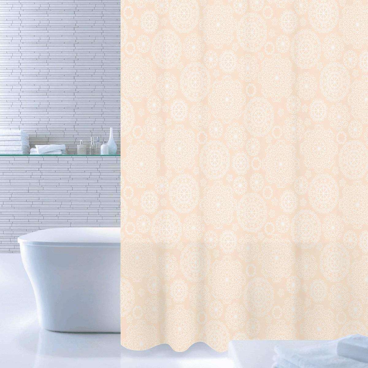 Штора для ванной Iddis Flower Bloom, цвет: желтый, 180 x 200 см520P18Ri11Штора для ванной комнаты Iddis выполнена из быстросохнущего материала - 100% полиэстера, что обеспечивает прочность изделия и легкость ухода за ним.Материал шторы пропитан специальным водоотталкивающим составом Waterprof.Изделие изготовлено из экологически-чистого материала, оно обладает высокой степенью гигиеничности, не вызывает аллергических реакций.Штора имеет 12 металлических люверсов. В комплекте: штора и кольца.