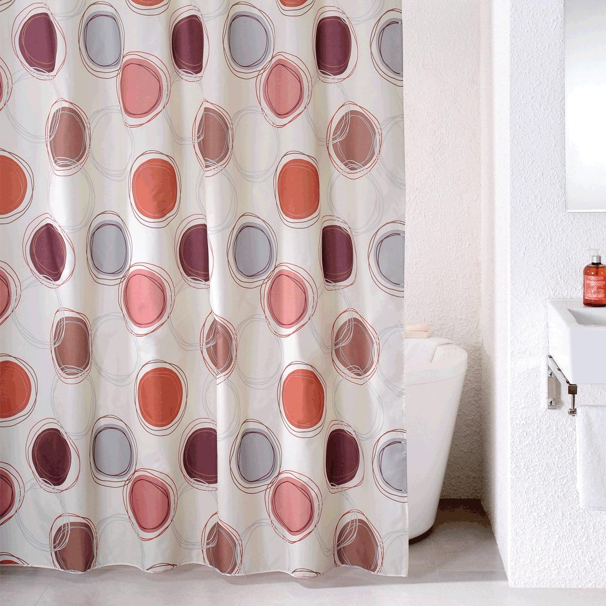 Штора для ванной Milardo Sea Stones, цвет: мультиколор, 180 x 200 см690P180M11материал: текстиль, 100% полиэстер, водоотталкивающая пропитка, упаковка ПВХ пакет, плотность 90 г/м, 12 металлических люверсов, 12 колец в комплекте