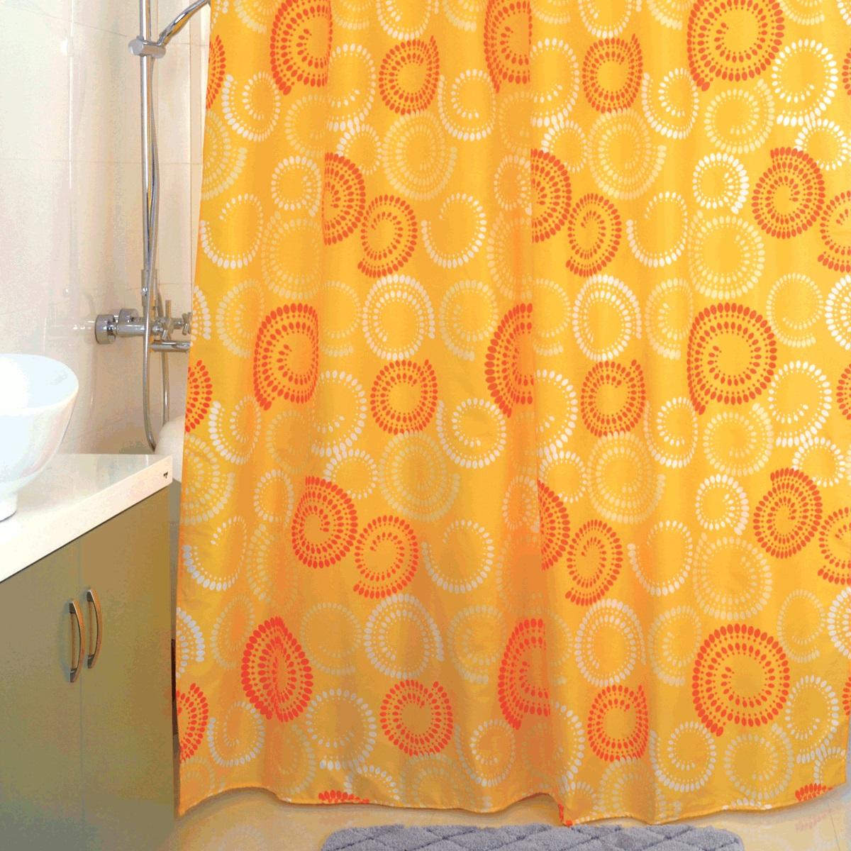 """Штора для ванной Milardo """"Beige Silhouette"""", изготовленная из полиэстера - водонепроницаемого, мягкого на ощупь и прочного материала, идеально защищает ванную комнату от брызг. В верхней кромке шторы предусмотрены пластиковые отверстия для колец, которые входят в комплект.Штора Milardo """"Beige Silhouette"""" порадует вас своим ярким дизайном и добавит уюта в ванную комнату. Плотность: 80 г/м.Количество колец: 12 шт."""