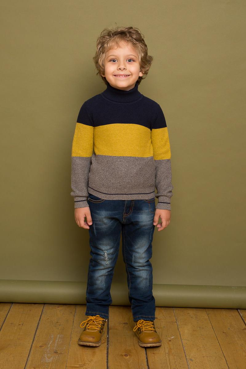 Джинсы для мальчика Sweet Berry, цвет: темно-синий. 733060. Размер 104 толстовка для мальчика sweet berry цвет темно синий 196309 размер 104 4 года