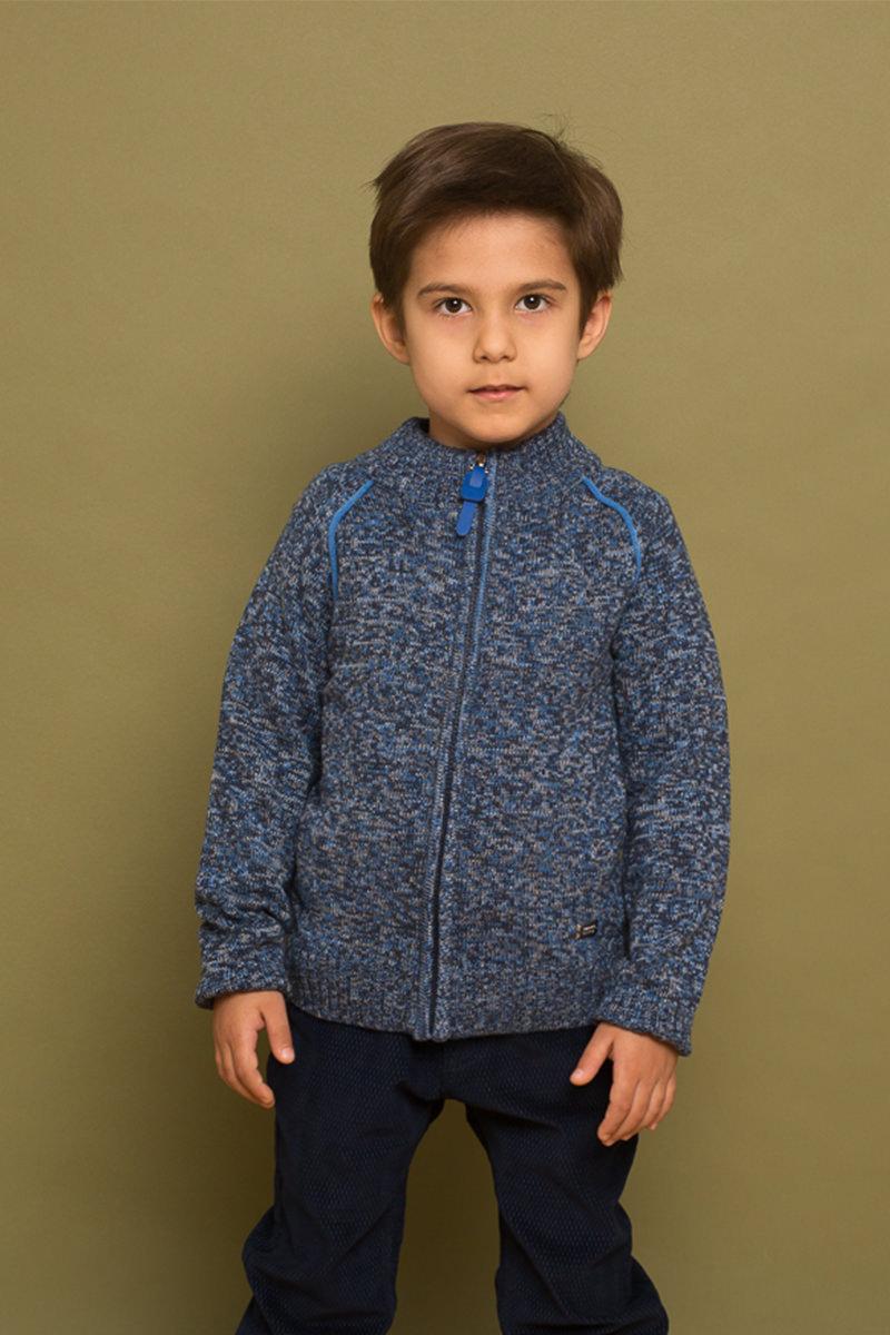 Кофта для мальчика Sweet Berry, цвет: синий. 733048. Размер 104 толстовка для мальчика sweet berry цвет темно синий 196309 размер 104 4 года