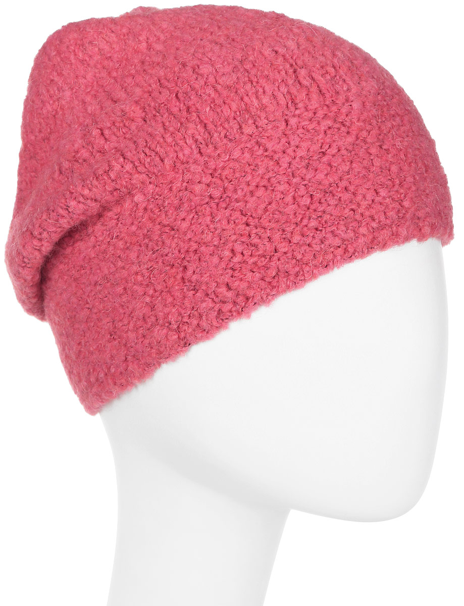 Шапка женская Snezhna, цвет: розовый. Размер 56/58. SWH7100/2SWH7100/2Стильная шапка-колпак, выполнена из высококачественной пряжи. Модель очень актуальна для тех, кто ценит комфорт, стиль и красоту. Отличный вариант на каждый день.