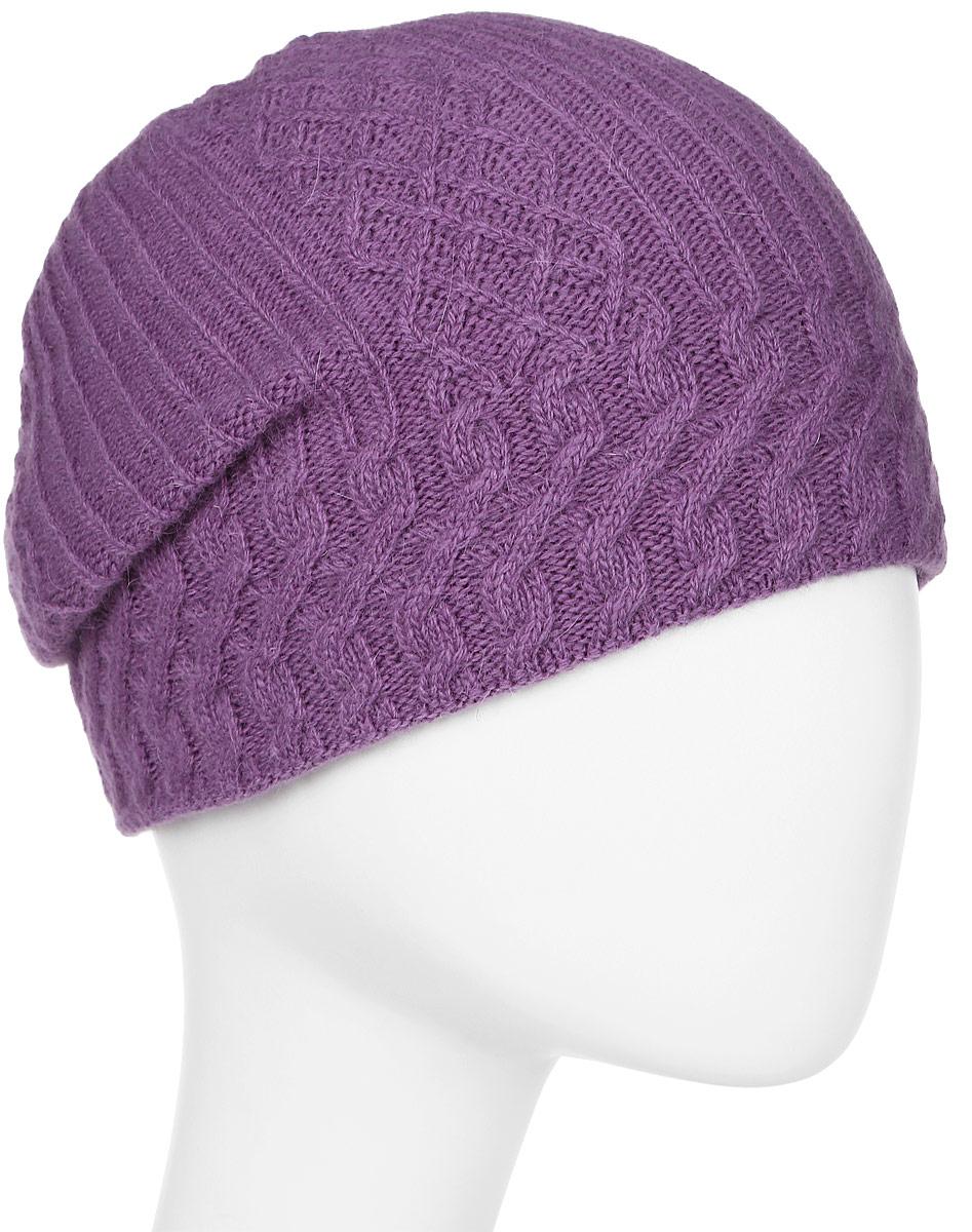 Шапка женская Marhatter, цвет: сиреневый. Размер 56/58. MWH6532/3MWH6532/3Стильная шапка добавит уникальность вашему образу. Данная модель мягкая и комфортная на ощупь. Модель на полном флисе.