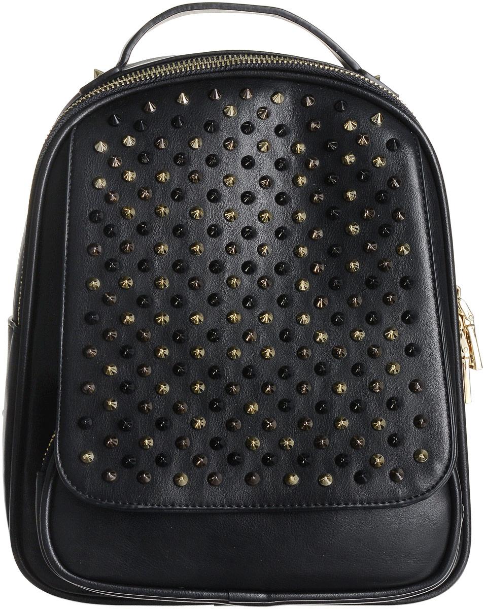 Рюкзак женский Flioraj, цвет: черный. 8938