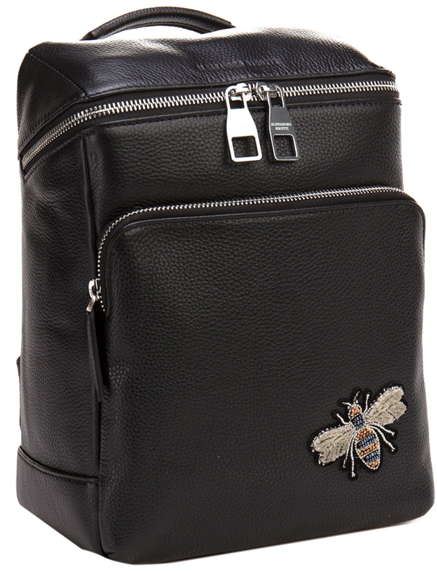 Сумка-рюкзак женская Alessandro Birutti, цвет: черный. 13-283-1 - Сумки